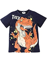Outtop(TM) Baby-Boys' Cartoon Dinosaur Letter Print T-Shirt Tops Shirts Tee