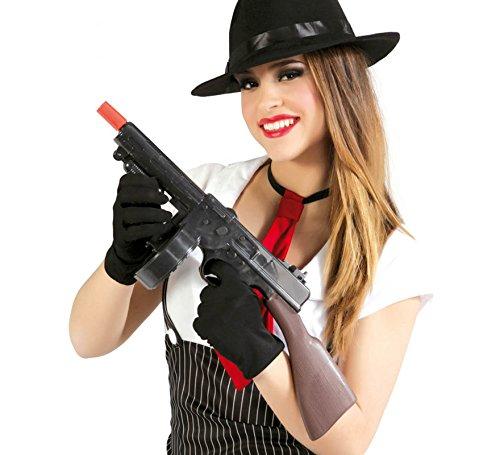 Guirca Fiestas GUI16642 - Gangster Maschinengewehr, 52 cm