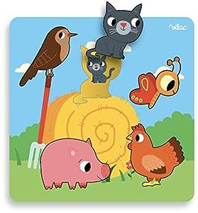 Vilac Vilac7904 Gallimard Farm - Puzzle