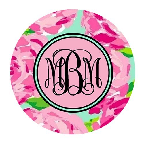 gomma-antiscivolo-mouse-rosa-rose-vs-circle-monogrammed-gaming-mouse-pad-220-mm-3-mm