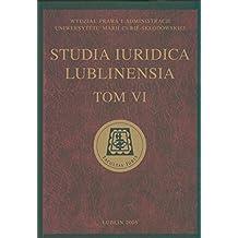 Studia Iuridica Lublinensia t VI