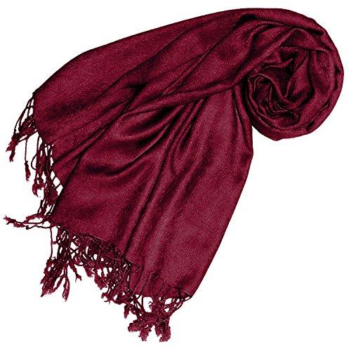 Lorenzo Cana Designer Pashmina hochwertiger Marken-Schal jacquard gewebtes Paisley Muster 60 x 200 cm Viskose harmonische Farben Schaltuch Schal Tuch Designer-schal