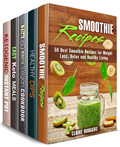 Vegetarian and Keto Recipes Box Set (5 in 1): Green Smoothies, Healthy Dips, Vegan Meals, Ketogenic Slow Cooker Recipes (Special Diet Meals) (English Edition) (Preston-set)