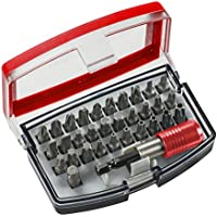 Einhell 118490 bit-Box con Puntas de 32 Piezas, Acero al Cromo-vanadio