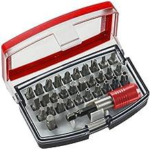 KWB 49118490 - Caja de puntas de 32 piezas (acero al cromo-vanadio)