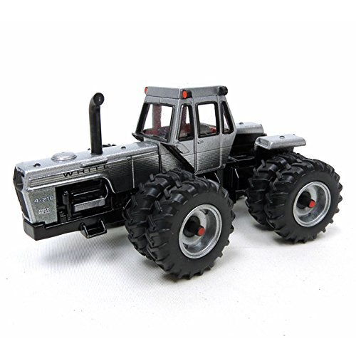 1/64th 2013 National Farm Toy Show White 4-210 Field Boss 4WD Tractor by TOMY International (ERTL)