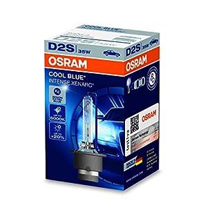 Osram XENARC COOL BLUE INTENSE D2S HID Xenon-Brenner, Entladungslampe, 66240CBI, Faltschachtel (1 Stück)