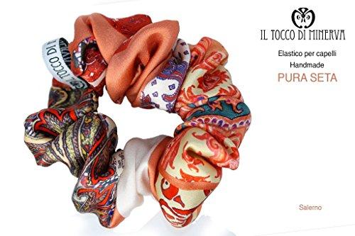 Elastische Seide Haar Salerno Handgefertigt Made in ItalyMade in Italy- handgemacht - Mädchen Geschenk Mädchen - Geschenke für sie - Weihnachten -