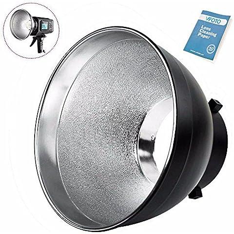 Godox AD-R6 Aprox 7 In Estándar Bowens Monte Reflector Para Studio Flash Luz Estroboscópica AD600B AD600BM Studio Reflector Estándar