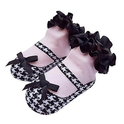 Baby Socken Mädchen Neugeborene Säugling Sock Kleinkind Fuß Wear 1 Jahr alt (12-24 Monate, qiao-niao-ge)