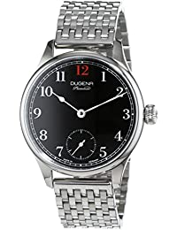 Dugena reloj de pulsera para hombre Epsilon 1Analog cuerda manual acero inoxidable 7090055