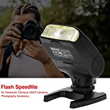 Camera Flashlight Meike MK320-P Flash Speedlite Accessory Digital On-Camera Mount Flashlight for Panasonic Olympus DSLR Cameras Photography Accessory