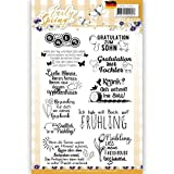 Prescious Marieke Clear Stamps Texte deutsch 7 tlg.