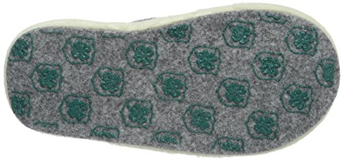 Adelheid Unisex-Kinder Gut (V)Erzogen Kinderfilzpantoffel Pantoffeln Grau (Mausgrau 940)