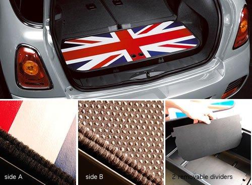 Original MINI Gepäckraum-Wanne Union Jack MINI R50 R53 R56 R56 LCI (Behälter Cooper Mini)