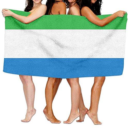 bikini bag Beach Towel Flag of Sierra Leone 80