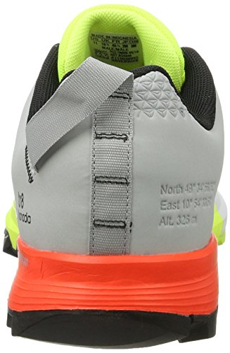 adidas Kanadia 8 Tr M, Scarpe da Corsa Uomo Giallo (Amarillo (Amasol / Negbas / Onicla))