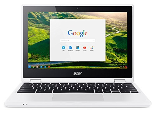 Acer Chromebook CB5-132T-C8VM Ordinateur 2-en-1 Tactile 11' Blanc (Intel Celeron, 4 Go de RAM, Mémoire 32 Go, Intel HD Graphics, Chrome OS)