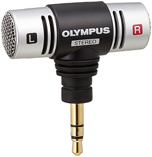 Olympus Microphone With stereo/Voice Recorders/LCD display while Recording 51YAhUgH9GL