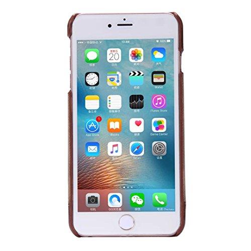iPhone Case Cover Art- und Weisemischungs- und Gleich-Farben-Kasten-Abdeckung, Cowboy-Jeans-Muster-harte Abdeckung für Apple iPhone 6 6S ( Color : Black , Size : IPhone 6 6s ) Black