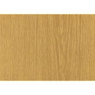 Alkor Sticky Back Plastic (self adhesive vinyl film) Woodgrain Oak Limba Medium 90cm x 2.1m 380-5005