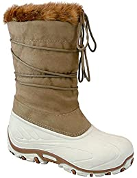 Manbi - botas de nieve unisex