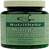 MANGAN 2 mg Citrat 60 St Kapseln