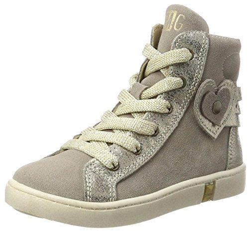 Primigi Mädchen PGL 8157 Hohe Sneaker, Grau (Talpa), 35 EU (Kinder Mädchen Turnschuhe Primigi)