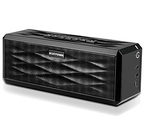 ECHTPower Kabellose Bluetooth 4.0 Lautsprecher Portable Wireless Speaker, Tragbare Bluetooth