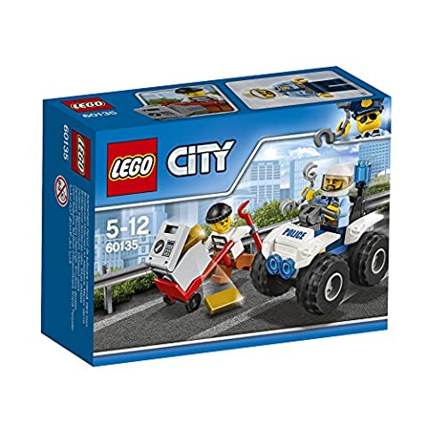 LEGO - 60135 - City - Jeu de construction - L'arrestation en (Shock Arresto)