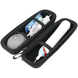 Para Braun Oral-B Pro 1000 eléctrico Cepillo de dientes recargabl EVA Duro Viaje Estuche Bolso Funda por Khanka