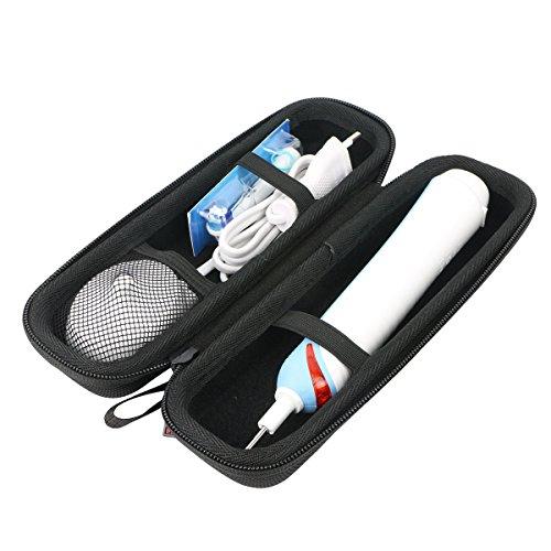 Für Braun Oral-B Pro 1000 Precision Clean wiederaufladbare elektrische Zahnbürste EVA Hart Reise Tragetasche Tasche von Khanka