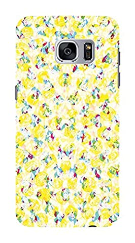Koveru Back Cover Case for Samsung Galaxy S7 - Snowflakes Pattern