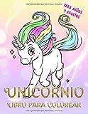 Unicornio Libro para colorear para niños y adultos: unicornio mágico: Volume 1 (ANTIESTRES Libro De Colorear)