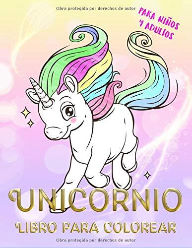 Pdf Descargar Unicornio Libro Para Colorear Para Niños Y
