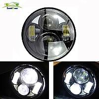 Lantsun 10~30V 40W 5.75 High/Low Beam Headlight for Harley Davision motor Bike(1 pc) J101G