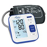 Blood Pressure Monitor for Upper Arm - LOVIA Accurate Automatic Digital BP Machine for Home Use & Pulse Rate Monitoring Meter with Cuff 22-40cm, 2×120 Sets Memory, LCD Backlight