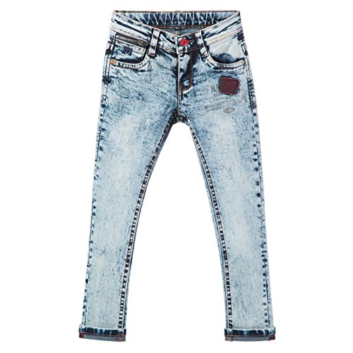 AIQIBAO Boys Jeans Kids Trousers Denim Jeans Children Streched Skinny Elastic Waist Age 2 3 4 5 6 7 8 9 10 11 12 13 14 15 16 17 Years