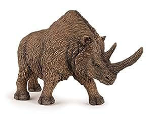 Papo - 55031 - Figurine - Dinosaure - Rhinocéros Laineux