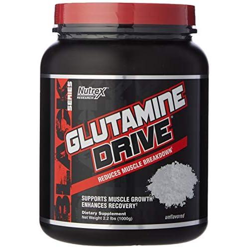 51YAr9oip1L. SS500  - Nutrex Research Glutamine Drive Supplement, 1000 g, Standard