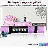 Nanle Yoga-Matte rutschfeste dünne Eco -4 mm dicke große Yoga-Matten 72,8