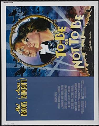 To Be Or Not To Be Poster Movie Affiche du film B 11 x 14 Inches - 28cm x 36cm