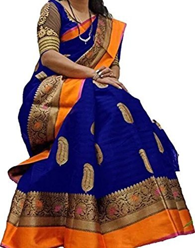 Premium Silk Saree (New Collection 2018 Sarees For Women Party Wear Offer...