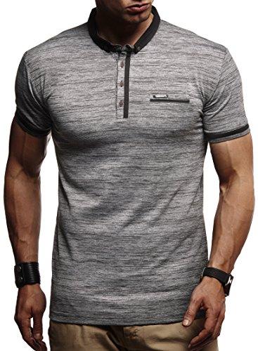 62e725993cafe5 LEIF NELSON Herren Jungen Männer Polo T-Shirt Kurzarmshirt Sweatshirt  Sportshirt Sommer Kurzarm Longsleeve modernes
