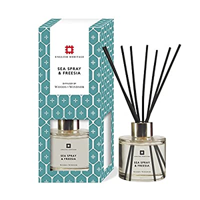 Woods of Windsor English Heritage Sea Spray and Freesia Diffuser by Woods of Windsor