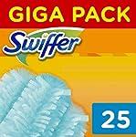 Swiffer Duster Ricariche per Piumino Catturapolvere, 25 Pezzi