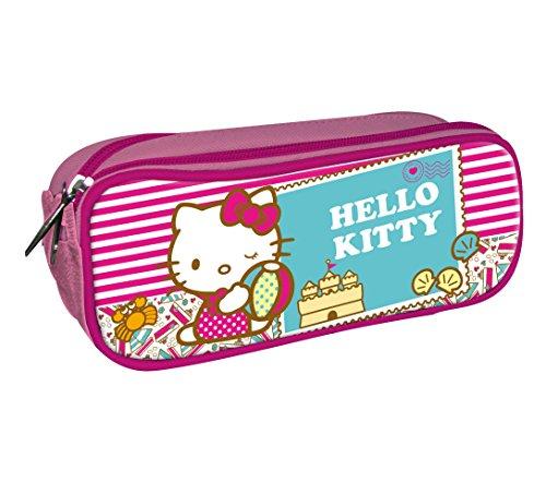 Astro Hello Kitty – Estuche con 2 cremalleras, 23 cm