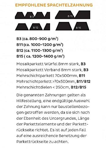 Bostik Parfix Classic Elastischer Hybrid Parkett Klebstoff 17.0kg Eimer