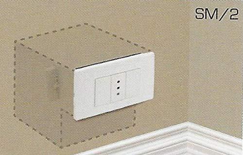 Cassaforte Invisibile A Muro Finta Presa Di Corrente Elettrica A Chiave Con...