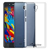 Hello Zone Exclusive Soft Transparent Crystal Clear Back Cover Back Case Cover For Celkon Diamond Ace 4G -Transparent